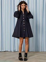 Apologue Denim Mini Dress