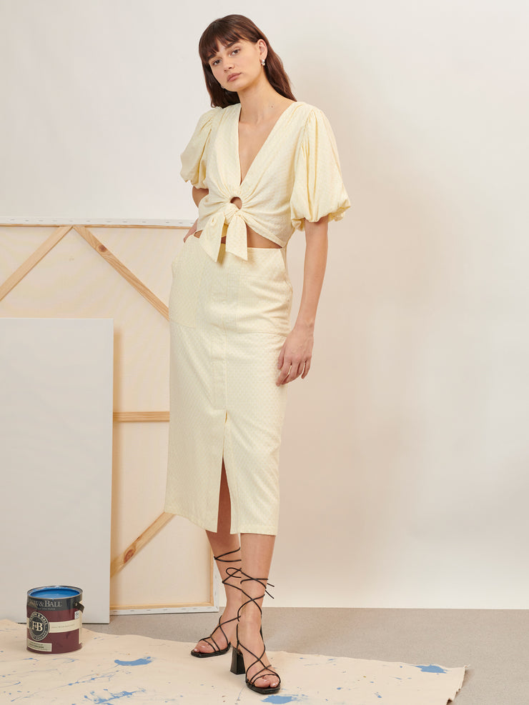 Renewal Knotted Midi Dress