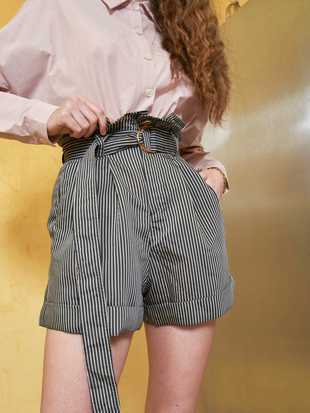 Aland Paper Bag Waist Short