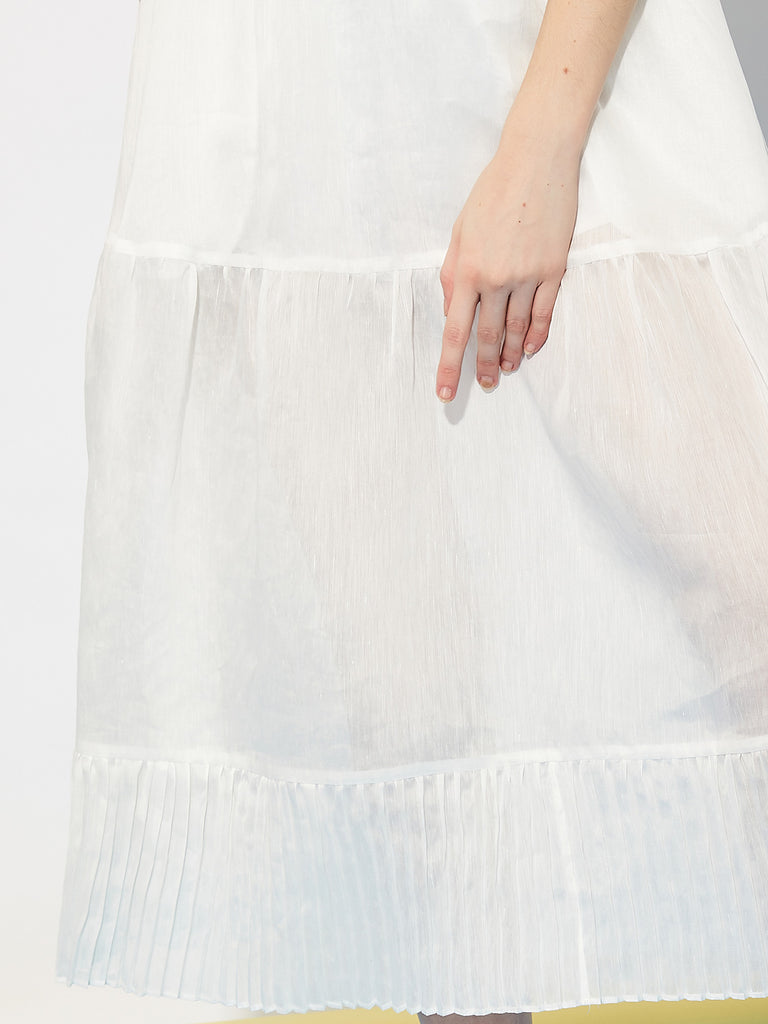 Department Sheer Midi Skirt