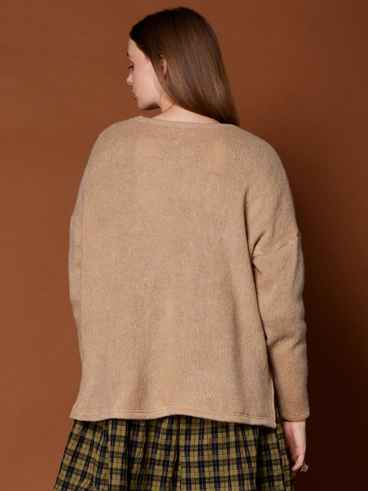 Burr Elm Knitted Top