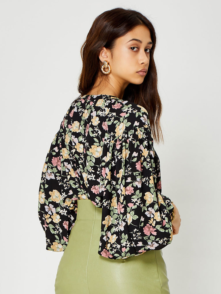 Flora Form Oversized Blouse