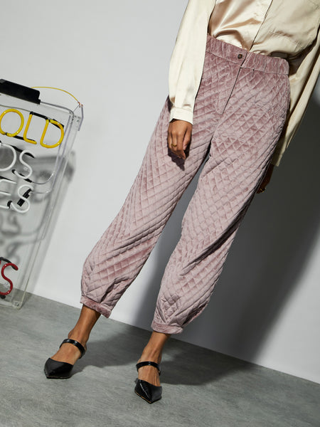 Step Out Quilted Trousers