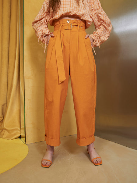 Hudson Paper Bag Waist Trousers