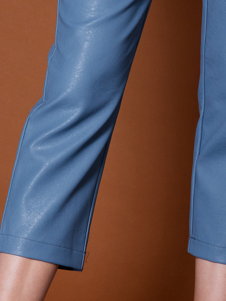Finery Faux Leather Trousers