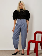 Simple Aspects Pleated Trousers