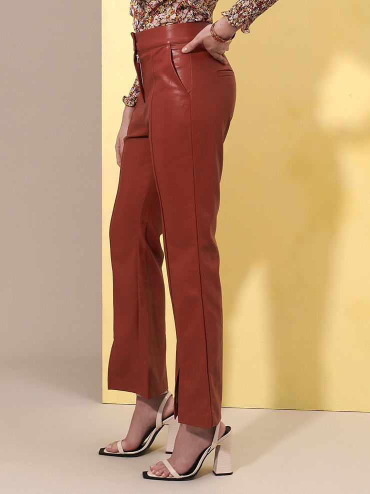 Blaze Faux Leather Trousers