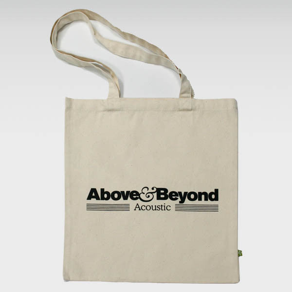 NATURAL ACOUSTIC TOTE BAG