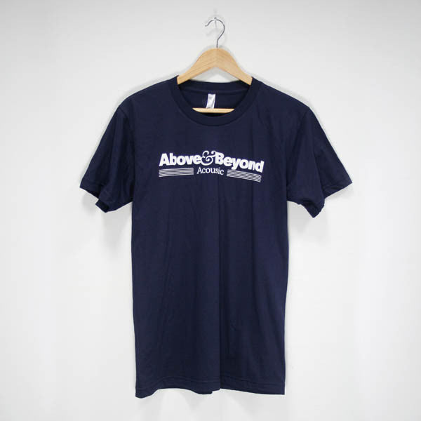 ACOUSTIC NAVY TOUR T-SHIRT
