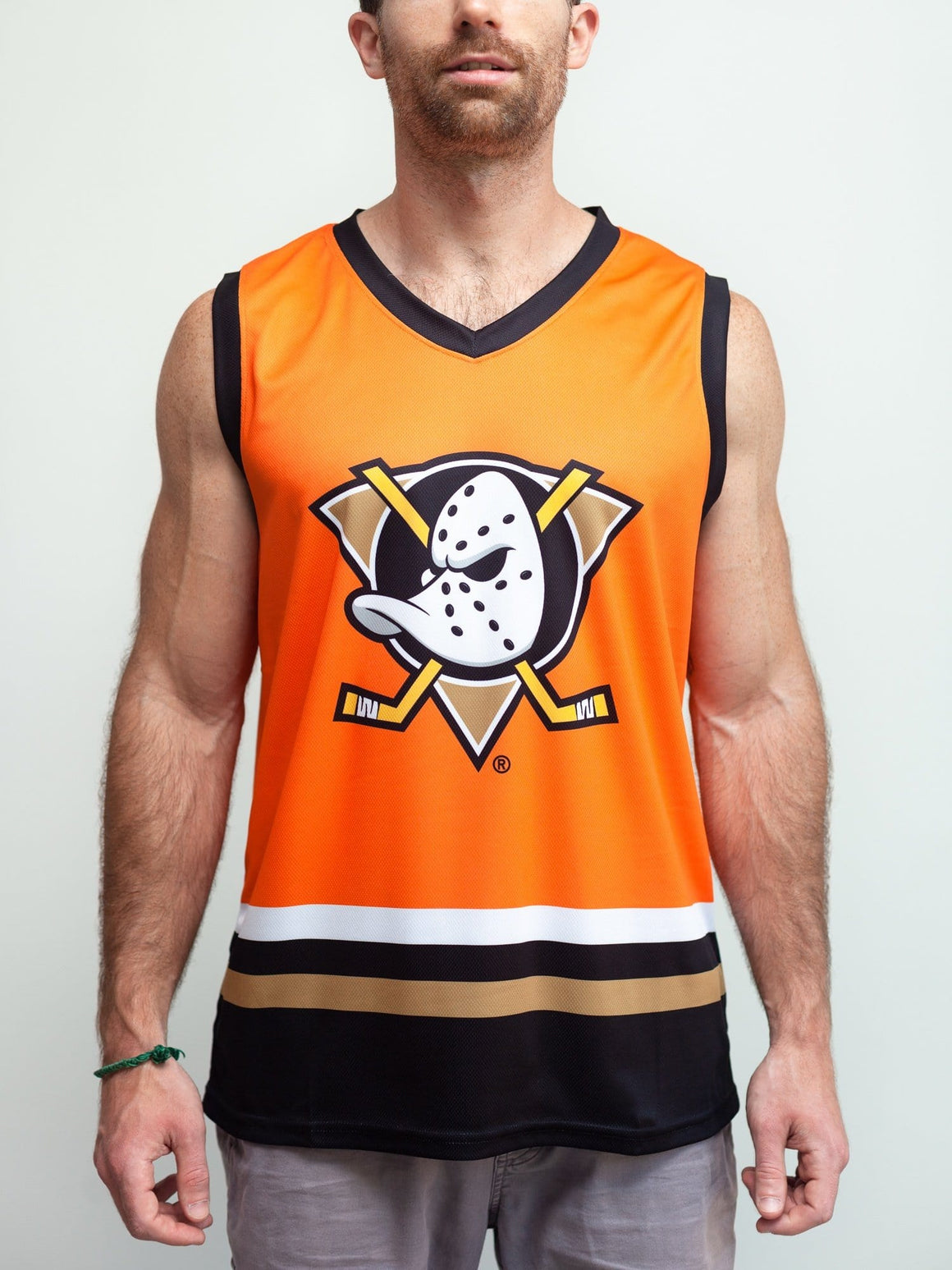 Anaheim Ducks Orange Retro Alternate Hockey Tank