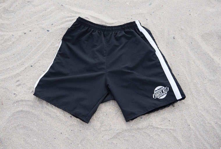 Ultimate Fit Gym Shorts (Black)