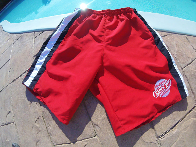 Board Shorts (Red)