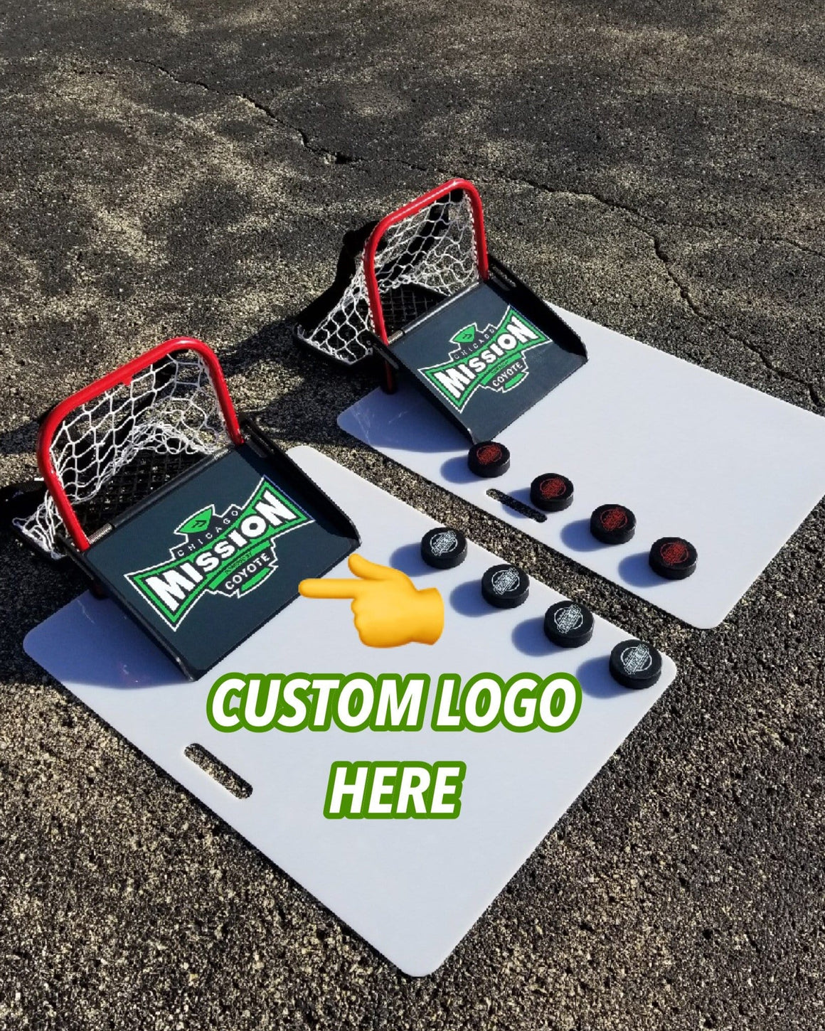 CUSTOM LOGO = Original Hockey Sauce Kit Full Kit