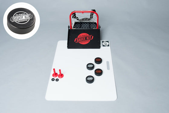 Original Hockey Sauce HALF Kit - Black Rubber Pucks