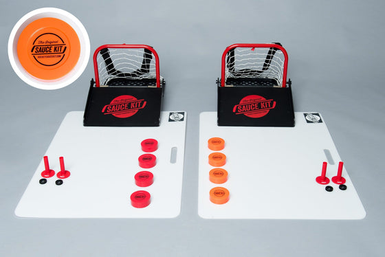 Original Hockey Sauce FULL Kit - Plastic Party Pucks