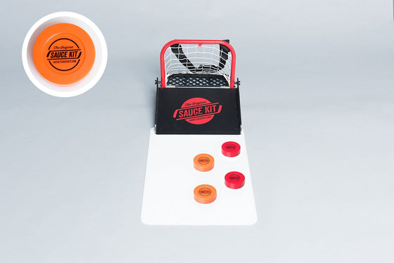 Original Hockey Sauce HALF Kit - Mini Boards & Plastic Party Pucks