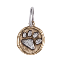 Load image into Gallery viewer, Waxing Poetic Camp Charm Paw CMP2MS-PAW