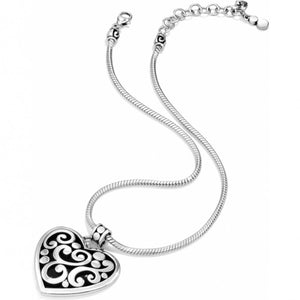 Brighton Contempo Heart Neckalce