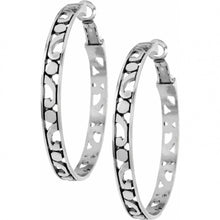 Load image into Gallery viewer, Brighton Contempo Large Hoop Earrings
