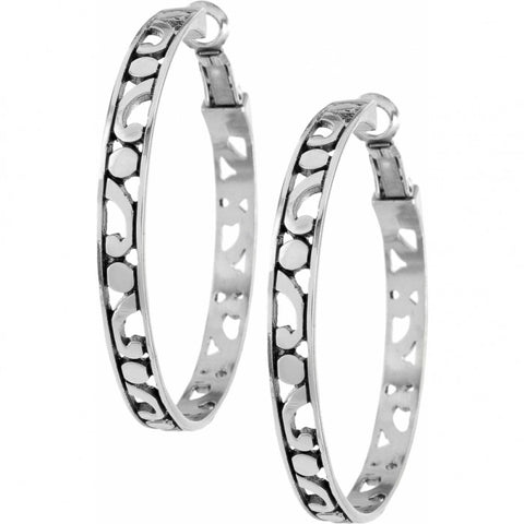 Brighton Contempo Large Hoop Earrings
