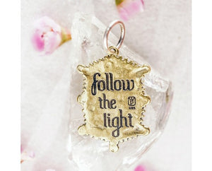 Waxing Poetic Lyric and Lore Follow the Light Mermaid Charm