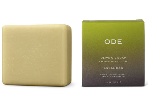 ODE Bar Soap Olive Oil Lavender