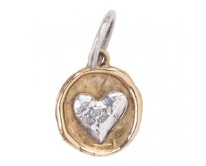 Waxing Poetic Camp Charm Heart