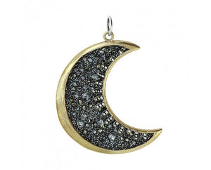 Waxing Poetic Moonshadow Pendant Large