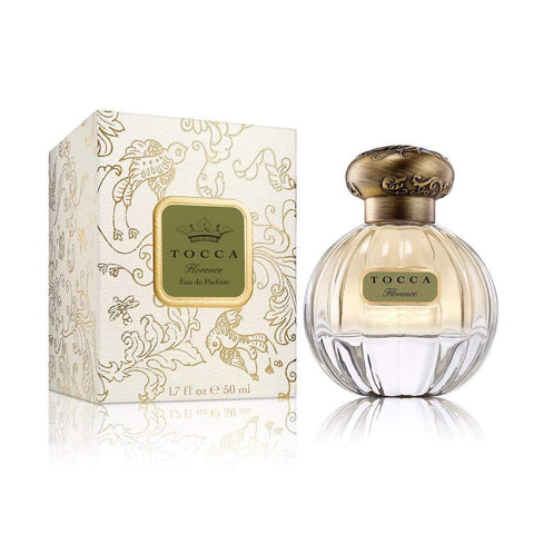 Tocca Florence Eau de Parfum A Parisian sophisticate. Florence is quintessentially French Her notes of Italian Bergamot Blonde Woods Pear and Ivory Gardenia are as romantic and chic as old-world Paris Size 1.7 ounces Pure Eu D'Parfum Spray TB2032 Gift Accessory Bath and Body Perfume