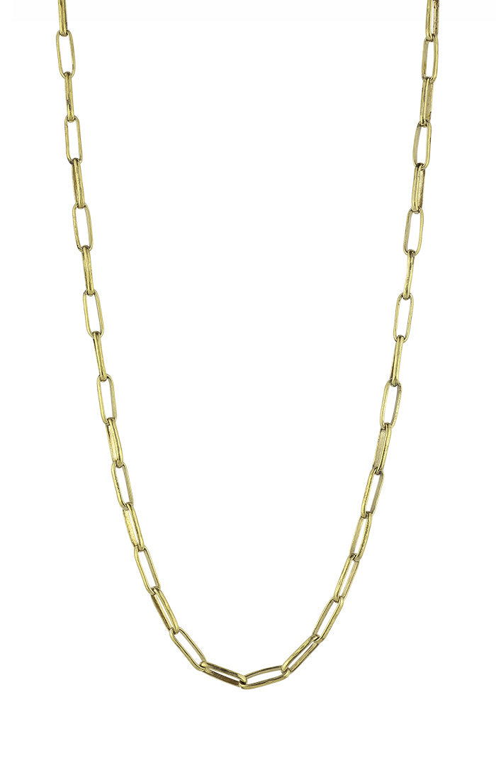 Waxing Poetic Seppo Brass Chain
