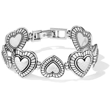 Load image into Gallery viewer, Brighton Big Sky Heart Bracelet