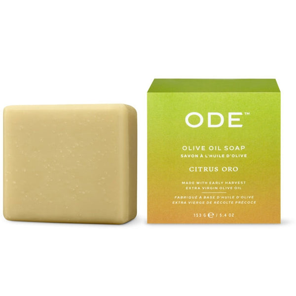 ODE Bar Soap Olive Oil Citrus Oro
