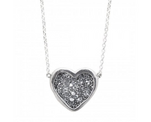 Load image into Gallery viewer, Waxing Poetic Guided by Heart Necklace