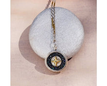 Load image into Gallery viewer, Waxing Poetic Inner Compass Pendant