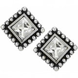 Brighton Sparkle Square Mini Post Earrings