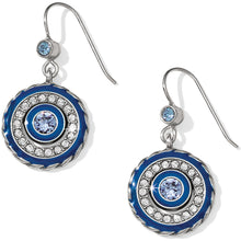 Load image into Gallery viewer, Brighton Halo Eclipse French Wire Earrings