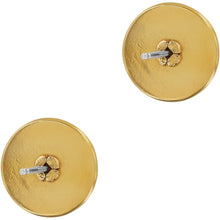 Load image into Gallery viewer, Ferrara Two Tone Post Earrings