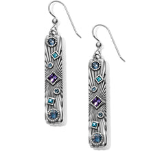 Load image into Gallery viewer, Halo Rays Bar French Wire Earrings
