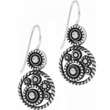 Load image into Gallery viewer, Halo French Wire Earrings