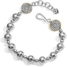 Load image into Gallery viewer, Ferrara Hammered Bead Bracelet