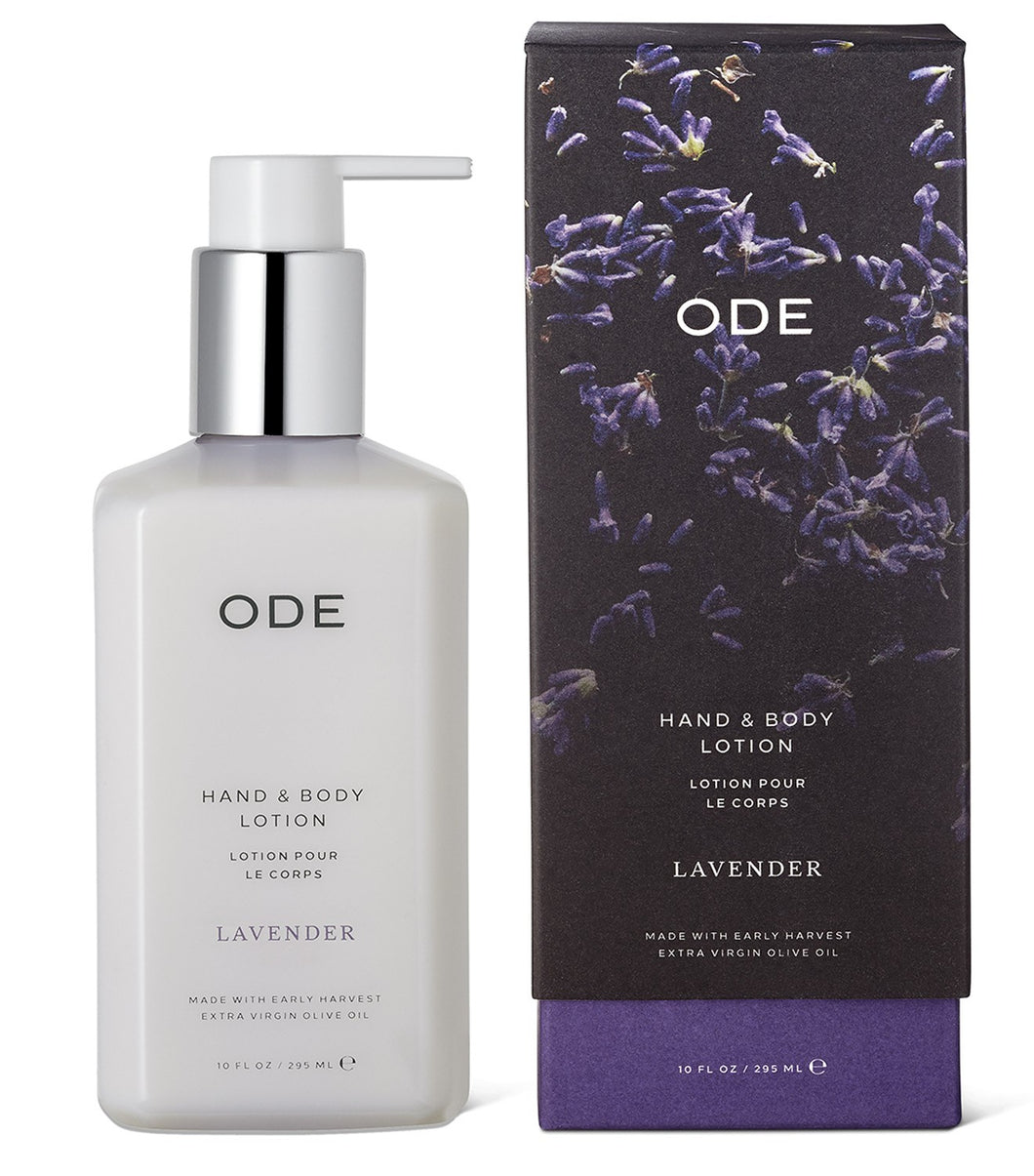 ODE Hand and Body Lotion - Lavender