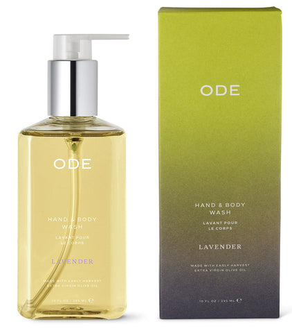 ODE Hand and Body Wash