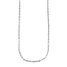 Load image into Gallery viewer, Waxing Poetic Flat Cable Silver Chain