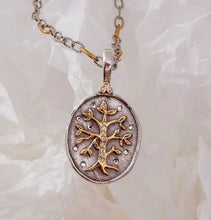 Load image into Gallery viewer, Waxing Poetic Tree of Life Pendant NEW