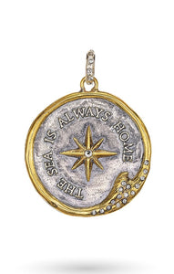 Waxing Poetic The Sea is Always Home Signature Medallion NEW 2021