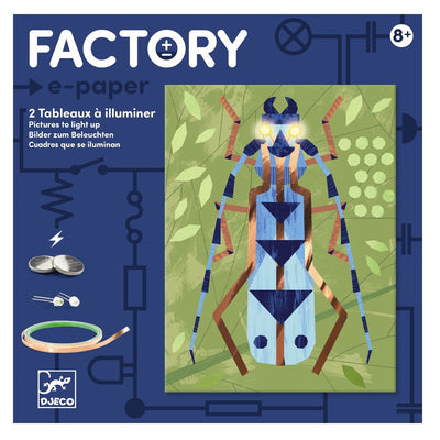 Djeco Factory, Art - Technology, Insekter
