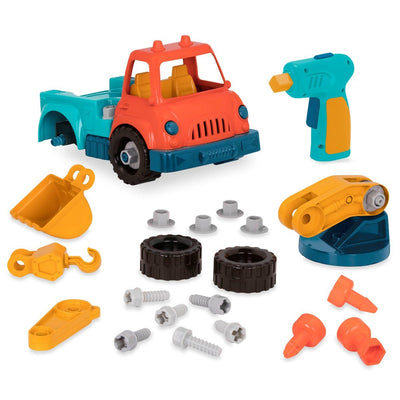 Wonder Wheels, Take-Apart bil