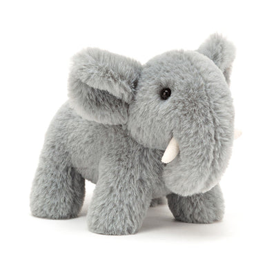 Jellycat bamse, Diddle elefant - 10 cm