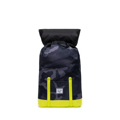 Herschel ryggsekk, Retreat Youth - Night camo/lime punch