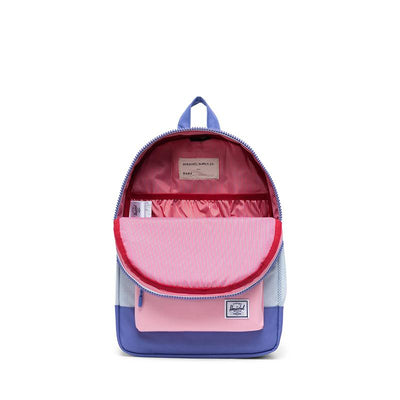 Herschel ryggsekk, Heritage Youth - Ballade blue pastel crosshatch/candy